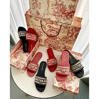 Dior Flat bottom slippers 6 colors-4