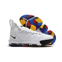 Nike Lebron 16 Xvi Colorful Basketball Sneaker | Best Deal Online