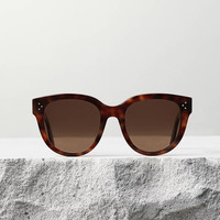 Thin Mary Sunglasses in Acetate
