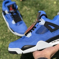 "[ Free Shipping ]Custom Eminem ""Encore"" Air Jordan 4 Running Shoes"