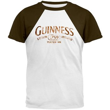 Guinness - Brown Ringer T-Shirt