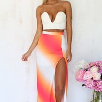 Sunset Split Skirt | SABO SKIRT