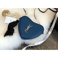 YSL trend female love tassel chain shoulder diagonal female bag