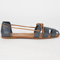 Sperry Top-Sider Shae Womens Fisherman Skimmers Navy  In Sizes