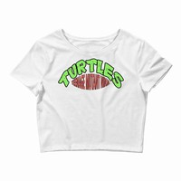 turtles2 Crop Top