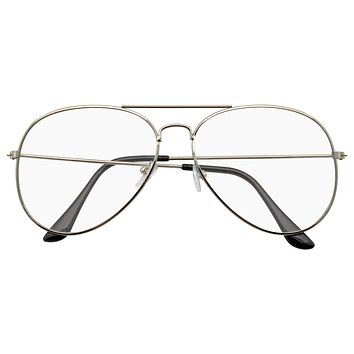 Retro Sunglasses Indie Dapper Classic Clear Lens Glasses