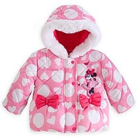 Minnie Mouse Puffy Jacket for Baby - Personalizable   Disney Store