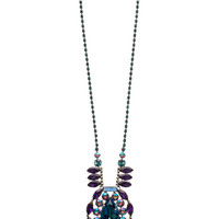 Multi-cut Crystal Statement Pendant Necklace in Northern Lights by Sorrelli - $295.00 (http://www.sorrelli.com/products/NCR15ASNL)