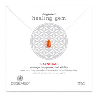 Healing Gem Carnelian Necklace