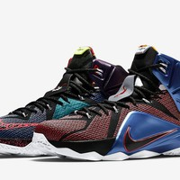What The Nike LeBron XII Basketball Sneaker
