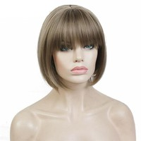 Synthetic Short Straight Hair Wig
