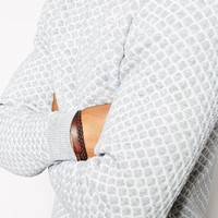 ASOS | ASOS Sweater with Quilted Texture at ASOS