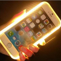 LED Light Flash Phone Case For IPhone 7, 6, 6S Plus S