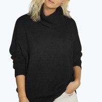Sophie Roll Neck Soft Knit Tunic