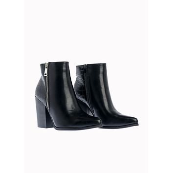 Women's Low-heeled Ankle Boots