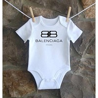 Gucci Dio Yves Saint Laurent Balenciaga Moschino Baby Onesuit-2