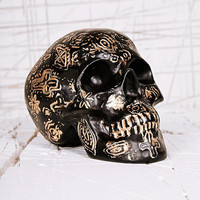 Carved Skull Money Bank - Urban Outfitters