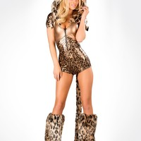 J. Valentine Bronze Leopard Costume : Cute Sexy Costumes and Outfits Made in the USA!