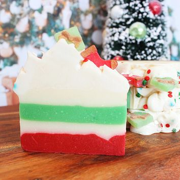 Santa's Workshop Christmas Soap Bar Soap Bar