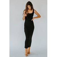 Cyber Monday: Black Maxi Dress