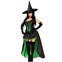 Daisy 5 PC Sexy Wicked Witch Costume