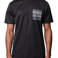 On The Byas Mesh Contrast Crew T-Shirt at PacSun.com