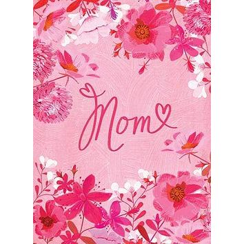 Pink Floral Mother's Day Card