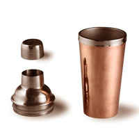 Legacy Cocktail Shaker - Handmade Copper Cocktail Shaker