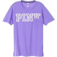 Victoria's Secret PINK Campus Short Sleeve T Shirt