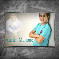 Unique Pillow Cover, Handsome Austin Mahone, Suitable For Any Age, Soft, Comfortable, Stylish