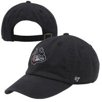 NCAA Gonzaga Bulldogs Clean Up Adjustable Hat, One Size, Navy