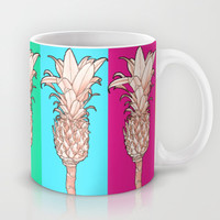 Pineapple - Ananas Arising Popcolors Mug by Tiki
