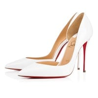Iriza 100 Latte Patent Leather - Women Shoes - Christian Louboutin