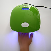 12W LED Nail Dryer Curing Lamp Machine Nail Art Tool Automatic Timer for UV Gel Nail Polish Fast Drying Style