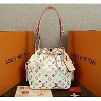 lv louis vuitton women leather shoulder bags satchel tote bag handbag shopping leather tote crossbody 84