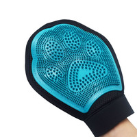 Pets Mitt Brush Grooming Glove Soft & Gentle Shedding Remove Fur Massage Dog Supplies Cleaning Washing Goods for Dog & Cat
