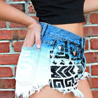 War Paint High Rise Shorts