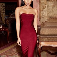 Old Hollywood sexy shape dress