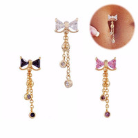 1Pc Delicate Belly Button Rings Ombligo Navel Piercing Body Jewelry Pircing Umbigo Percing Body Jewelry Pirsing