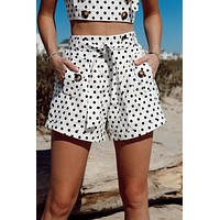 St Tropez Polka Dot Set Shorts