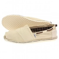 Toms Bimini Stitchout Espadrilles - Deck Shoes from The Menswear Site UK