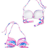 Caged Push-Up Top - PINK - Victoria's Secret