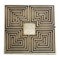 Algiers Meditation Labyrinth in Pewter | Whisperingtree.net
