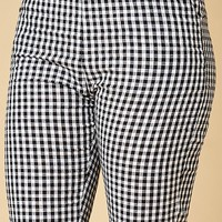 Honey Punch Gingham Pants at PacSun.com