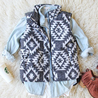 Birch Smoke Cozy Vest