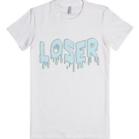 Loser-Female White T-Shirt
