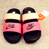 Nike Woman Men Fashion Casual Multicolor Sandals Slipper Shoes B-CSXY