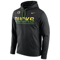 Men's Nike Apple Green Oregon Ducks Circuit Pullover Performance Hoodie