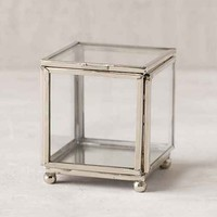 Mini Glass Square Box