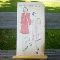 Vintage 1950s New York Pattern Sewing Pattern 958 COMPLETE